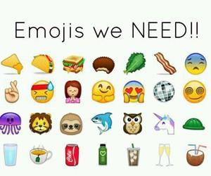 emojis, emoji, and need image