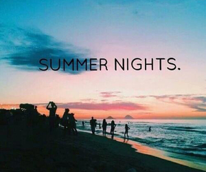 awesome, nights, and beach image