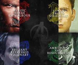 harry potter, Avengers, and captain america image