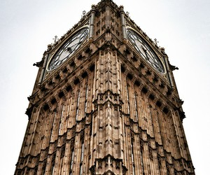 Big Ben, clock, and uk image