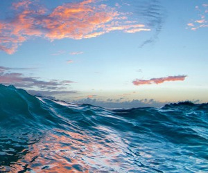 ocean, sea, and sky image