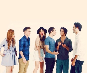 cast, teen wolf, and colton haynes image
