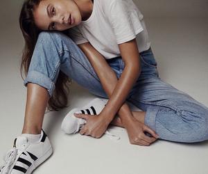 adidas and model image
