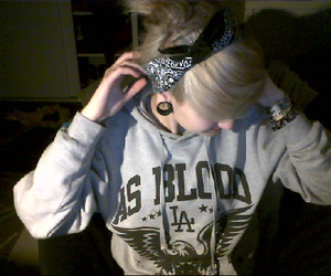 girl, Plugs, and cute image