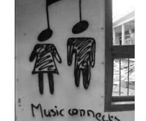 music, love, and connect image