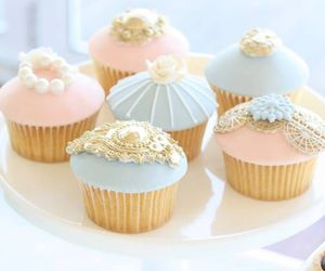 sweet, cupcake, and dessert image