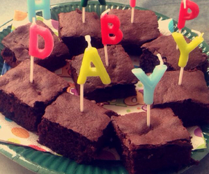 brownies and happybirthday image