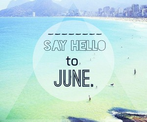 june and hello image