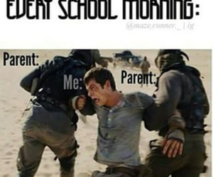 funny, me, and school image