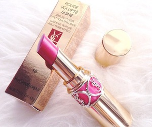 lipstick, YSL, and pink image