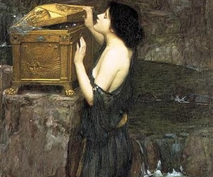 pandora, art, and john william waterhouse image