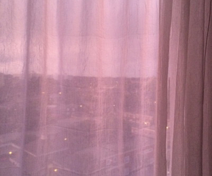 pink, window, and pastel image