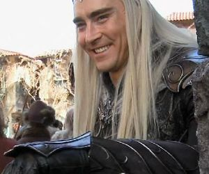 thranduil, lee pace, and the hobbit image