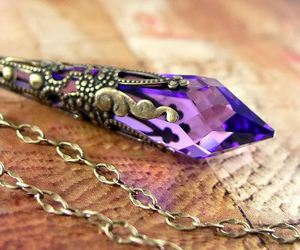 crystal, fashion, and mystical image