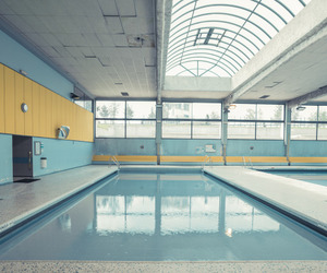 pool, aesthetic, and blue image