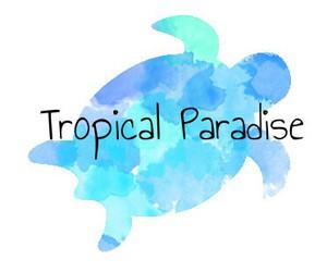 sea turtle and tropical image