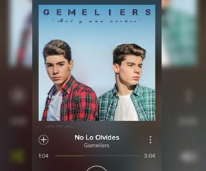 no lo olvides, gemeliers, and danisú image