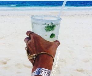 summer, beach, and mojito image