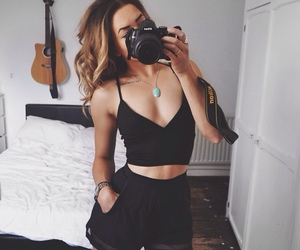 camera, mirror, and selfie image
