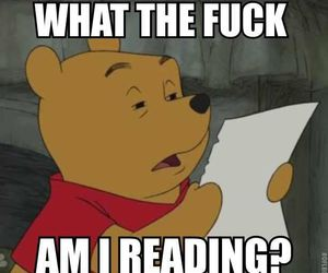 winnie the pooh and funny image