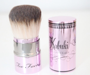 Brushes, makeup, and too faced image