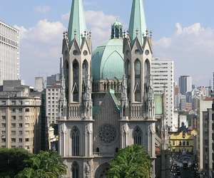 brazil, cathedral, and city image