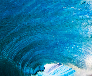blue, tube, and wave image