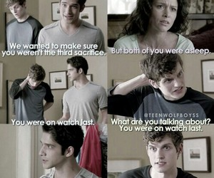 teen wolf, funny, and isaac image