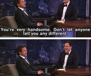 funny, robert downey jr, and handsome image