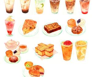 food, art, and anime image