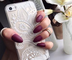bohemian, nails, and cute image