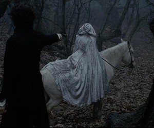 sleepy hollow, dark, and forest image