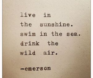 Emerson and quote image