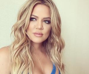 hair, khloe kardashian, and kardashian image