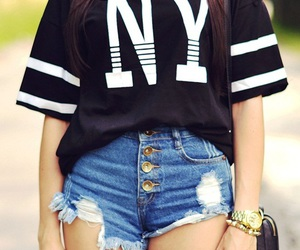 fashion, ny, and outfit image