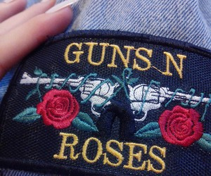 Guns N Roses, rock, and 90s image
