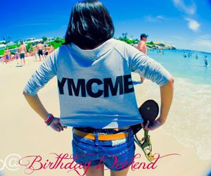 beach, fish eye photography, and ymcmb image