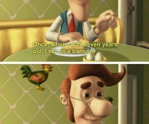 funny, banana, and humor image