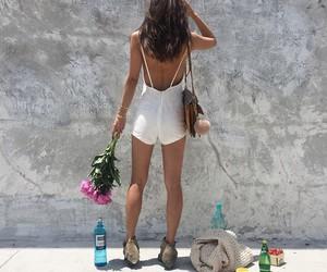 fashion, fashionista, and flowers image