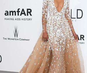 dress, beautiful, and Chanel Iman image