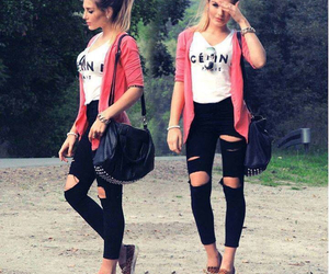 fashion, celine, and outfit image