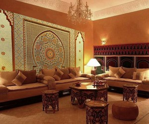 deco, marocain, and oriental image