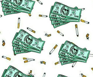 money, cigarettes, and wallpaper image