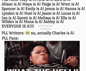 charles, funny, and pll image