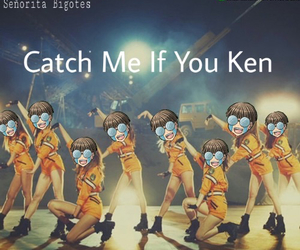 catch me if you can, girls generation, and ken image