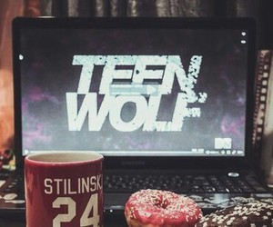 teen wolf, donuts, and dylan o'brien image