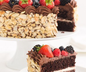 cakes, delicious, and desserts image
