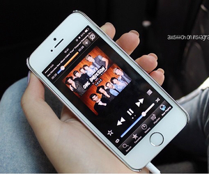 apple, iphone, and music image