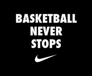 Basketball, nike, and love image