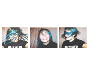 alternative, blue hair, and color image